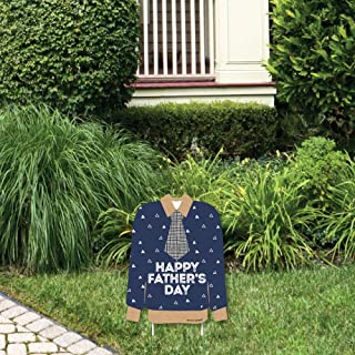 product image for Big Dot of Happiness My Dad is Rad - Outdoor Lawn Sign - Father's Day Party Yard Sign - 1 Piece