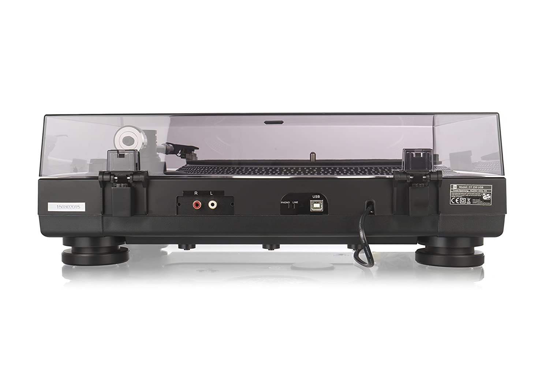 Dual DT 250 USB Tocadiscos (33/45 U/min, imán-Pastilla-System, USB ...