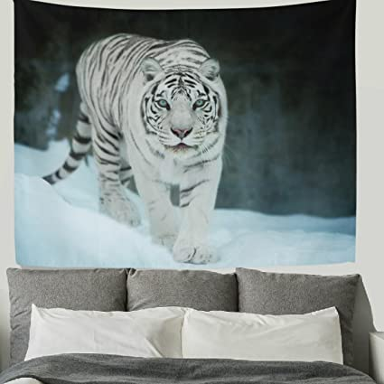 Amazon.com: HMWR 90x60 Inch Tiger Tapestry Wall Hanging Cool Animal ...