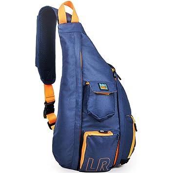 52bf766d0df Luck route Shoulder Sling Backpack - Crossbody Bag Women Men Single Strap  (Blue)