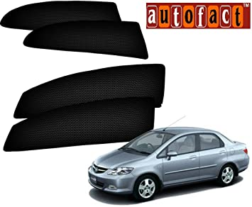Autofact Car Accessories Zipper Magnetic Sunshades (Honda City Zx 2004 To  2008)
