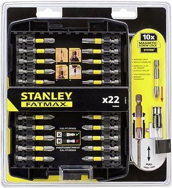 Stanley FatMax – Juego de 22 destornilladores cierre de rosca ...