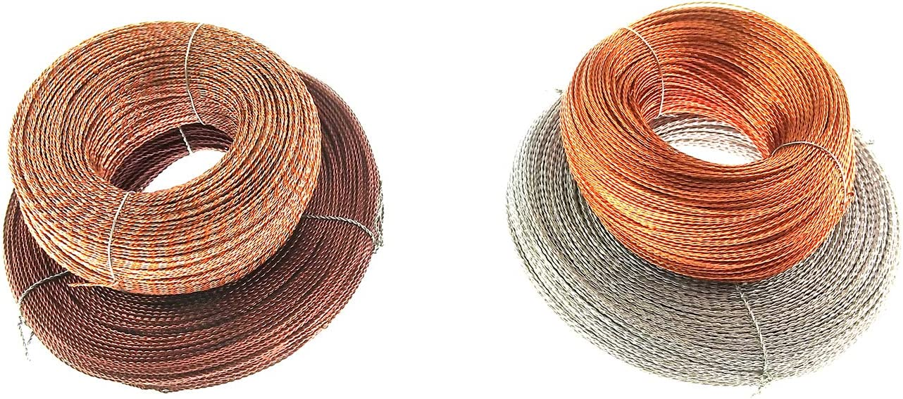 100m with Copper Wires 500g//1.1lb, Approx:300pcs YAFENG 8mm x 5mm Security Seals Lead Seals Beans for Sealing Prepayment Meters Wholesale Extinguisher Lead Seals dependl