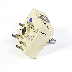 Frigidaire 318191024 Range Dual Surface Element Control Switch Genuine Original Equipment Manufacturer (OEM) Part