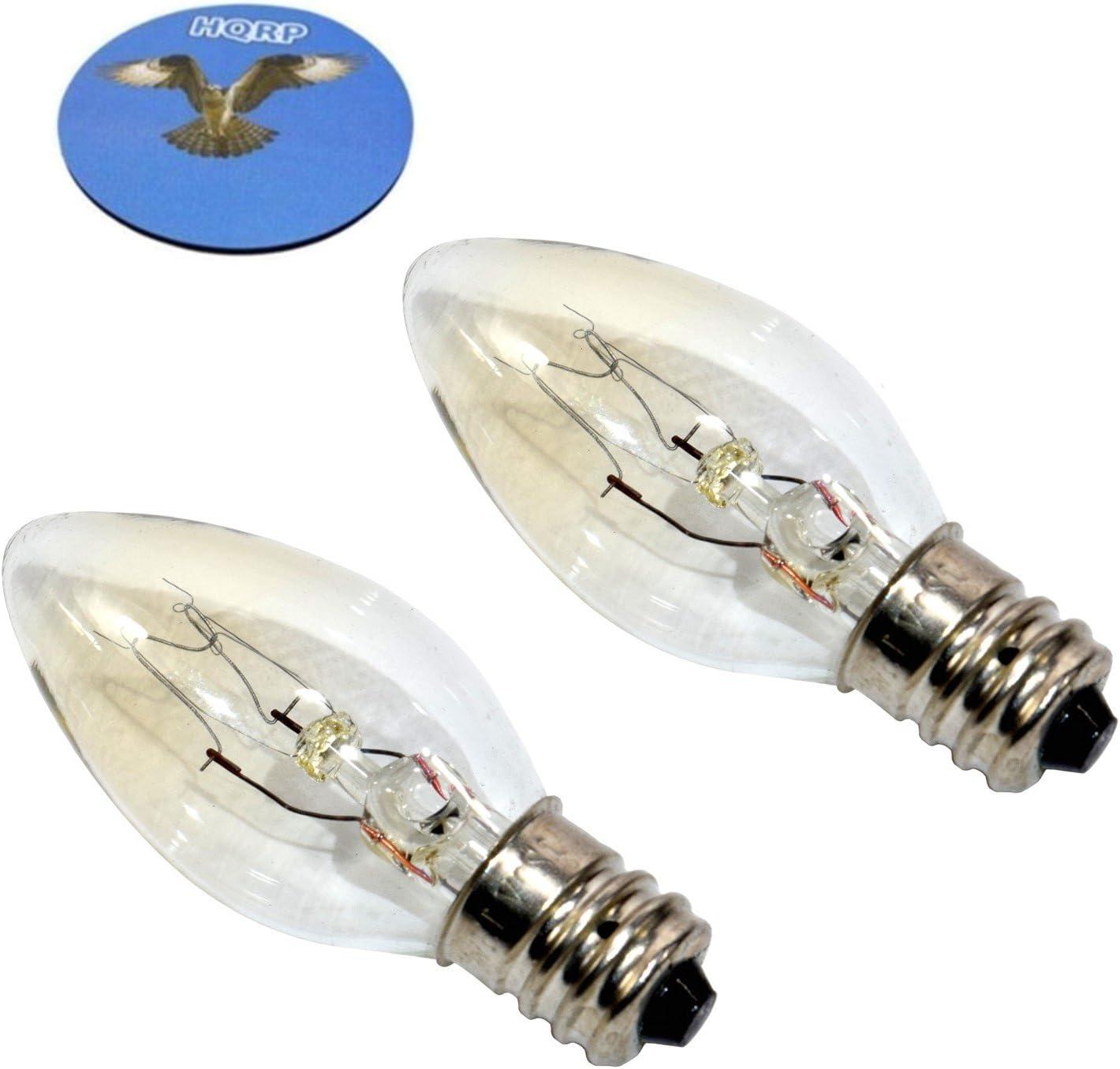 2 x 15w Ersatzglühbirne für Magic Salt Salzlampe 300° Hitzebeständig E14