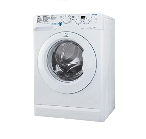 Indesit XWD 71683 X W de lavadora carga frontal 7 kg, eficiencia ...