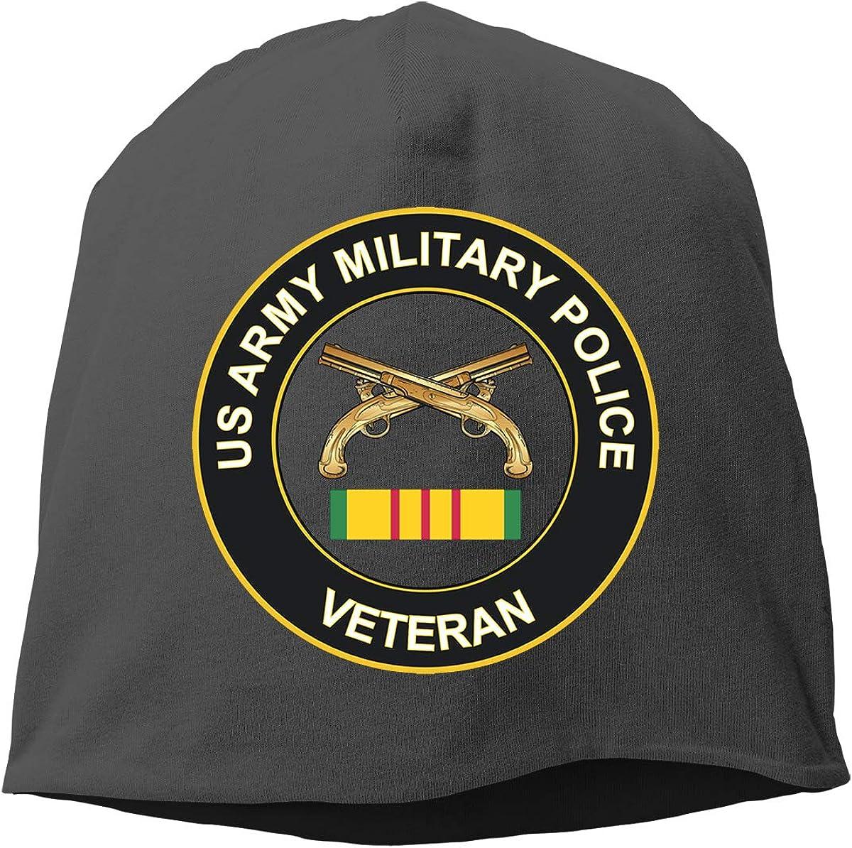 Army Military Police Vietnam Veteran Unisex Knitted Hat Beanie Hat Warm Hats Skull Cap Beanie Hat