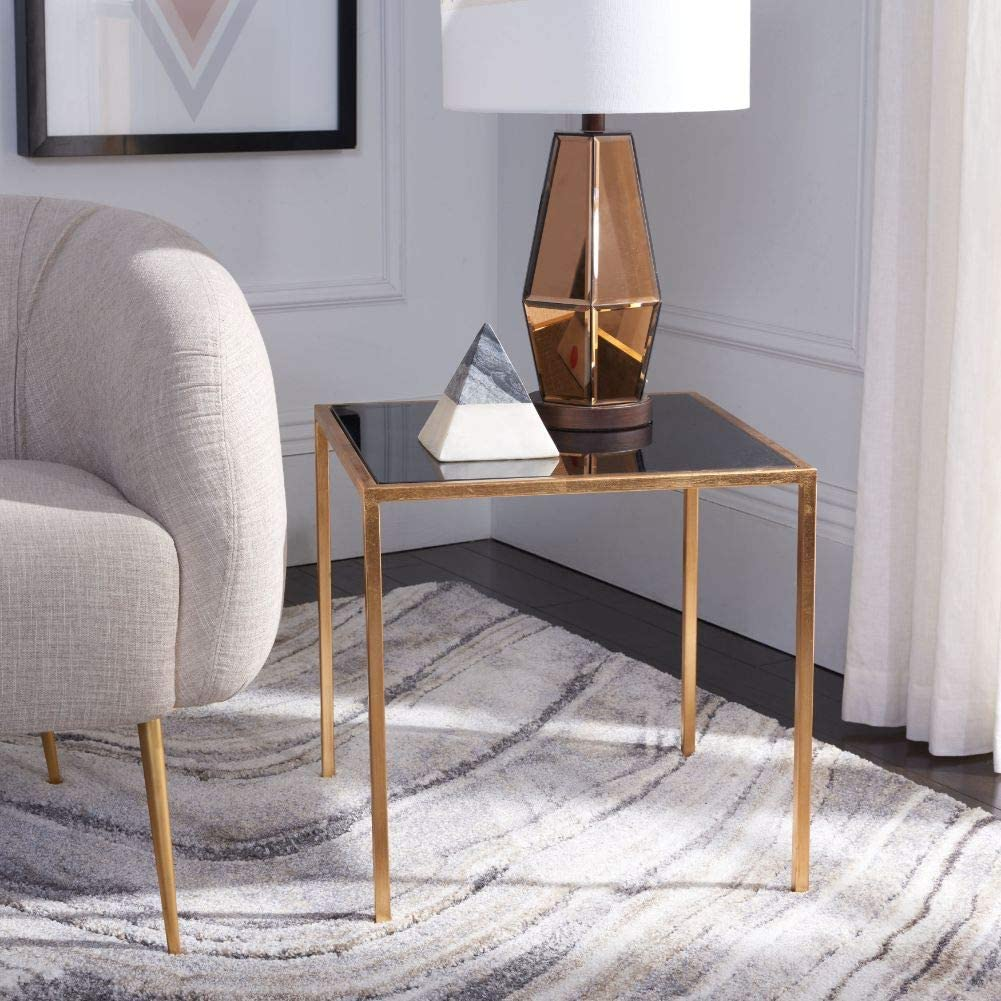 Safavieh Home Collection Kiley Gold/Black Accent Table