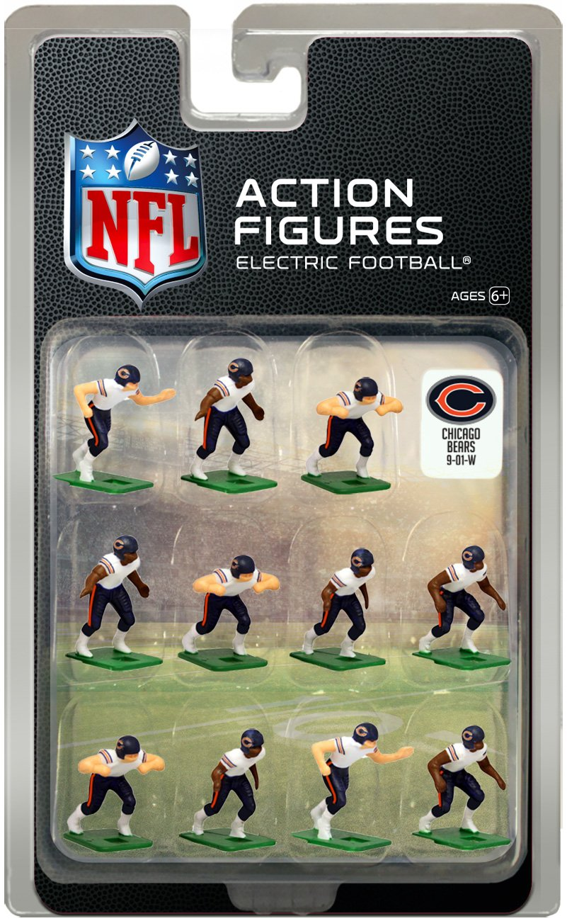 Tudor Games Chicago Bears Away Jersey NFL Action Figure Set