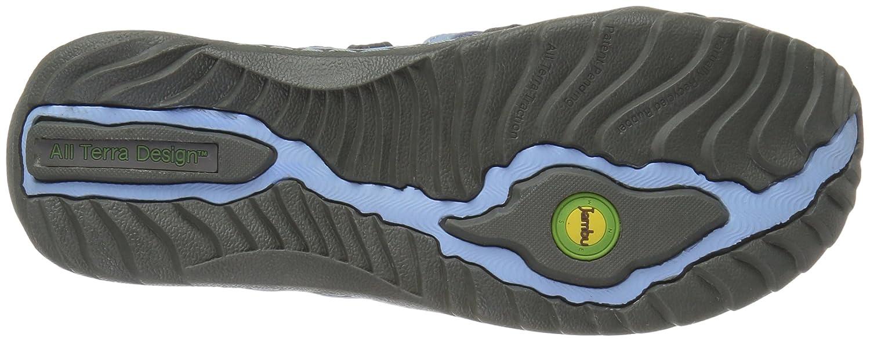 Jambu Women's Roman Flat B01IFFIZW6 8.5 B(M) US|Charcoal/Blue Bell