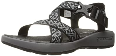 750aa9cf367a Skechers Sport Men s Outdoor Adjustable Fisherman Sandal  Amazon.co ...