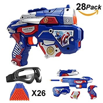 Nerf Rival Team Blue Apollo XV-700 Blaster with coordinating Face Mask