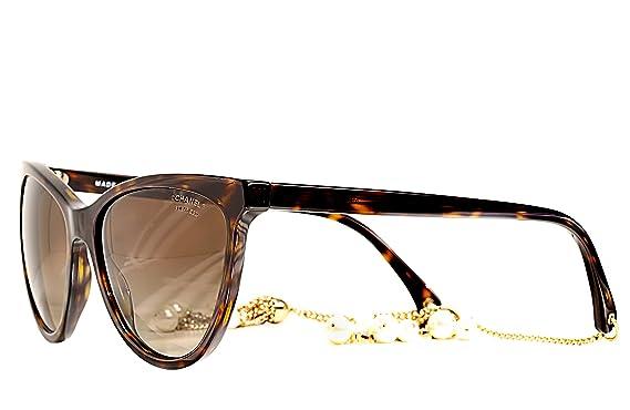 Amazon.com: Chanel Diseñador Sunglasse de mujeres con ...