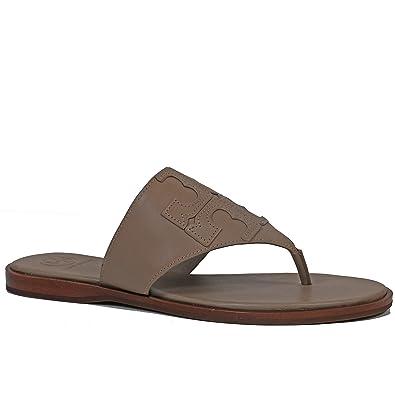 68b75da75307 Tory Burch Jamie Logo Flat Thong Sandal (6.5