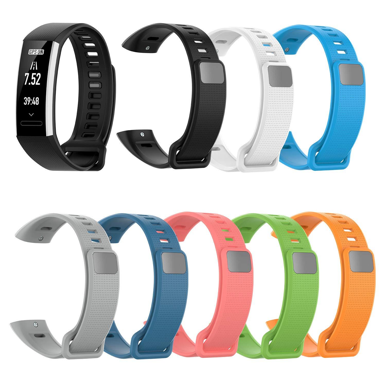 Yushiwu Banda de Reloj de Silicona,Smartwatch Pulsera de Reemplazo ...