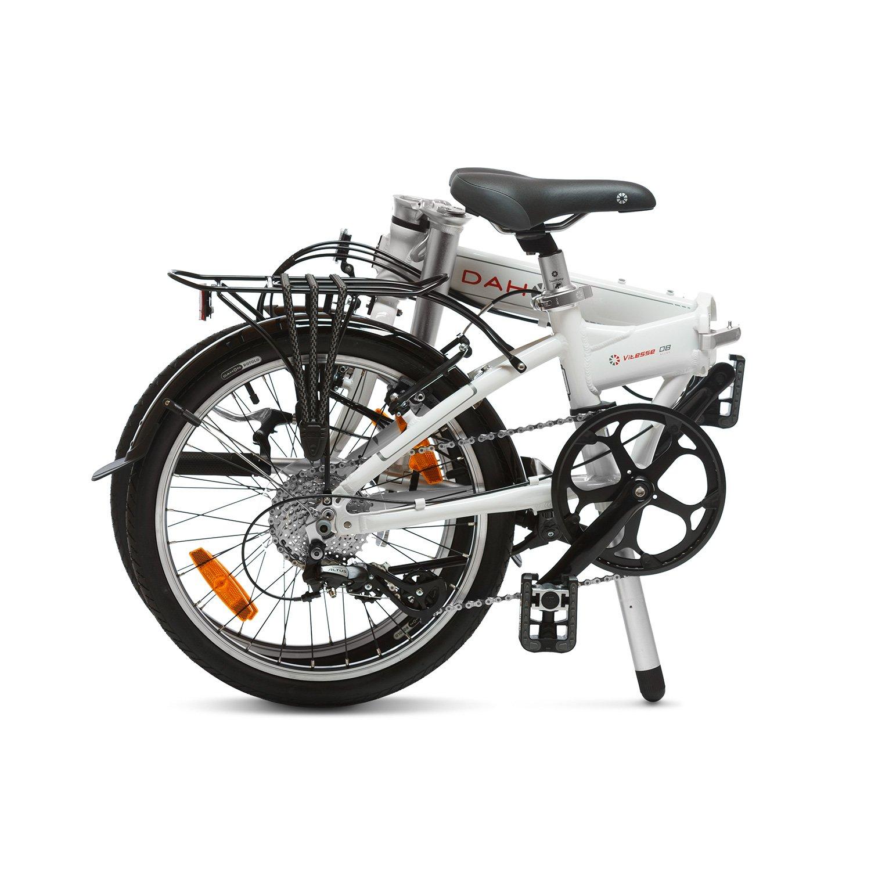 Dahon Vitesse D8 Bicicleta Plegable, Unisex Adulto, Blanco Cloud, 20