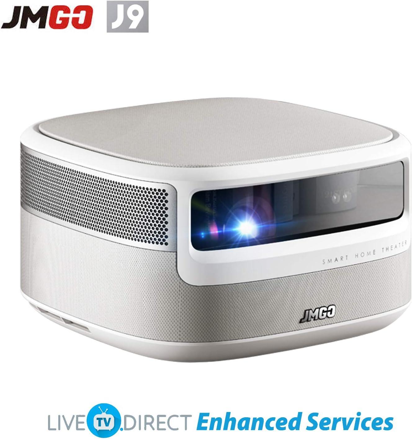 JmGO N7 Proyector de Cine en Casa, LiveTV.Direct Mejorar Nativo ...