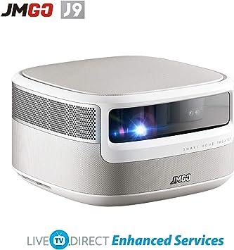 Amazon.com: Proyector de casa, JmGO J9 Native 1080p HD 1850 ...