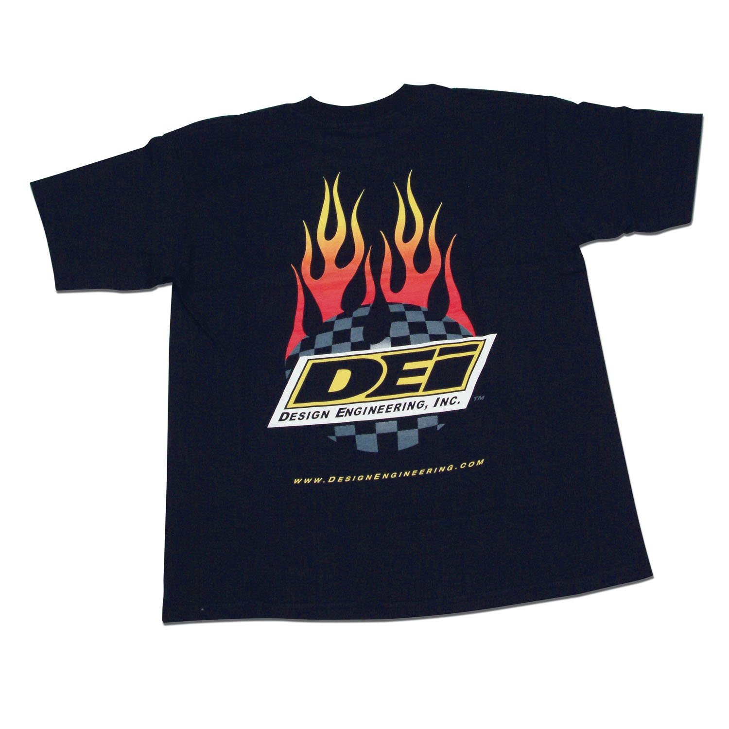 Small Design Engineering 070100 Flamed Logo Cotton T-Shirt