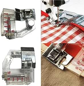Máquinas de Coser Pie accesorios, Hongxin ajustar Bias