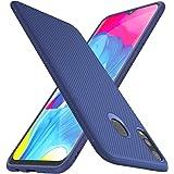 iBetter per Samsung Galaxy M20 Cover, Samsung Galaxy M20 Soft Rubber Protettiva Cover, Protezione Durevole, Compatibilita esatta per la Samsung Galaxy M20 Smartphone.(Blu)