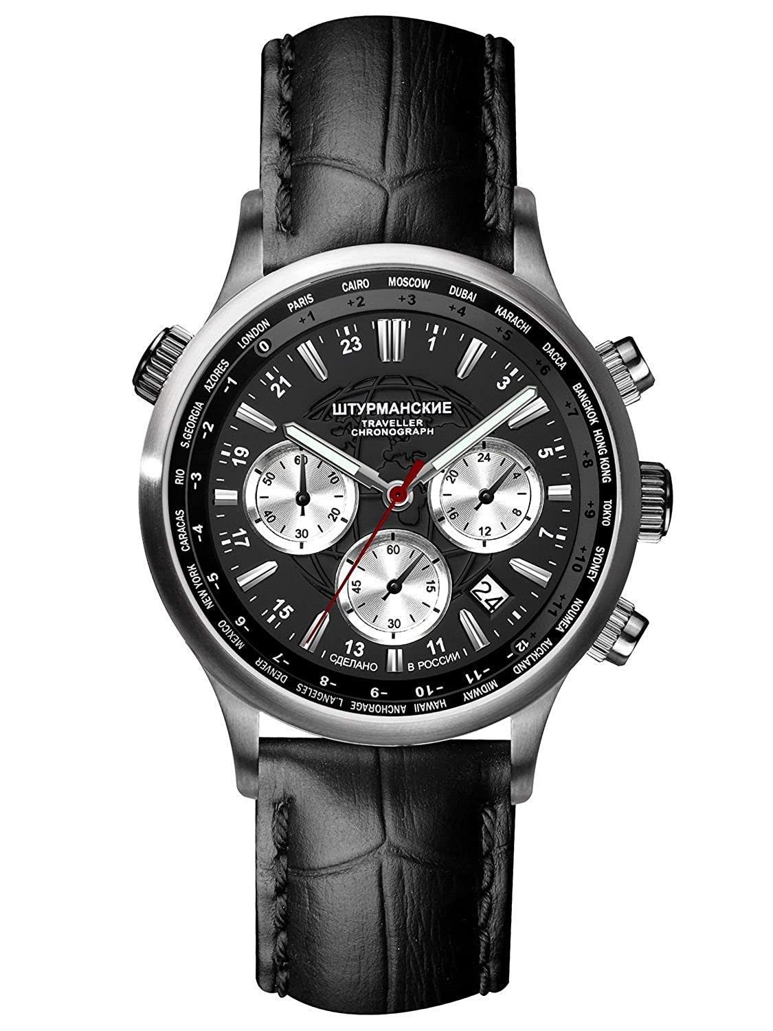 Sturmanskie Traveller Chrono Herrenarmbanduhr VD53-3385877