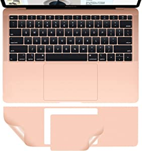 MacBook Air A2179 A1932 Palm Rest Skin, CASEBUY PalmRest Cover with Trackpad Protector for MacBook Air 13-inch Model A2179 A1932 2020 2019 2018 Protective Vinyl Decal Cover Sticker, Rose Gold