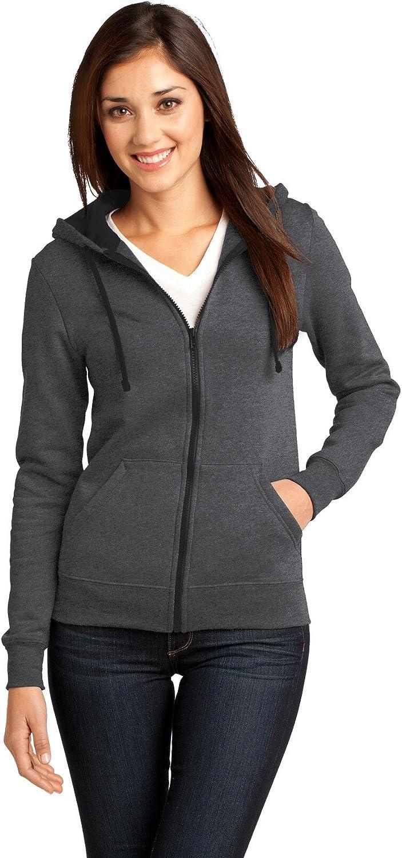 District Juniors Core Fleece Full-Zip Hoodie