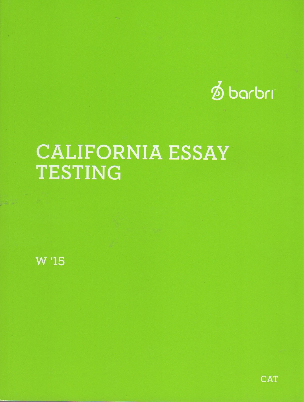 winter barbri california essay testing book barbri winter 2015 barbri california essay testing book barbri 0702865192271 com books
