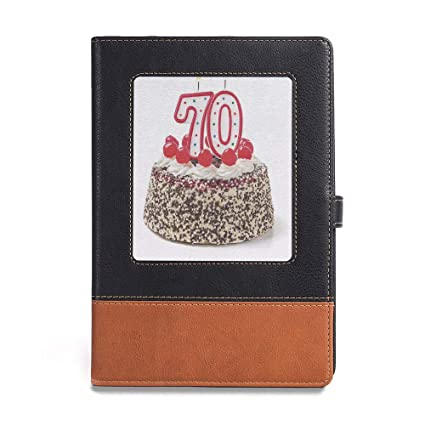 Amazon Thick Notebook 70th Birthday Decorations A561 X