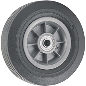 Flat Proof Replacement Wheel- 8-Inch -300 lb Load Capacity For Use on Wagons, Carts and Many Other Products