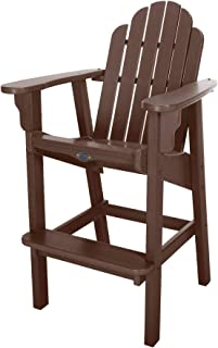 product image for Nags Head Hammocks Classic Bar Dining Chair, Chocolate