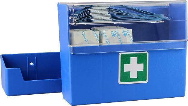 Tiritas dispensador 15,7 x 12,7 x 5,5 cm tiritas Caja con pared 90 tiritas