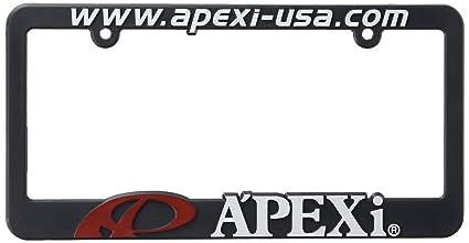 APEXi 601 KLP1 License Plate Frame