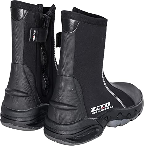 ZCCO1 5mm Diving Boots Neoprene Boots with Anti-Slip Rubber Sole Scuba Diving Scuba Snorkeling Boots for Water Sports Snorkeling Canyoning with Carry Bag