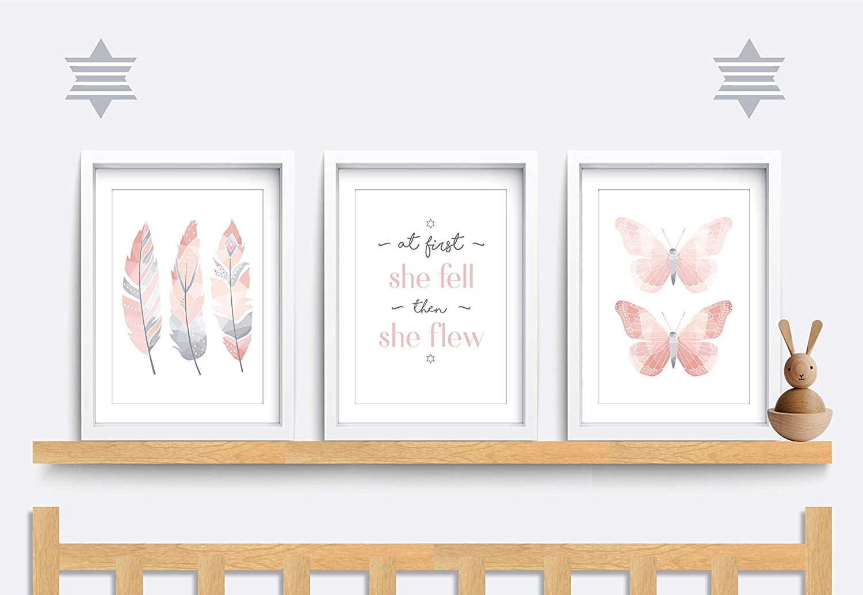 BUTTERFLY Wall Print VARIOUS SIZES  Wall Print,Art Print,Nursery Print,