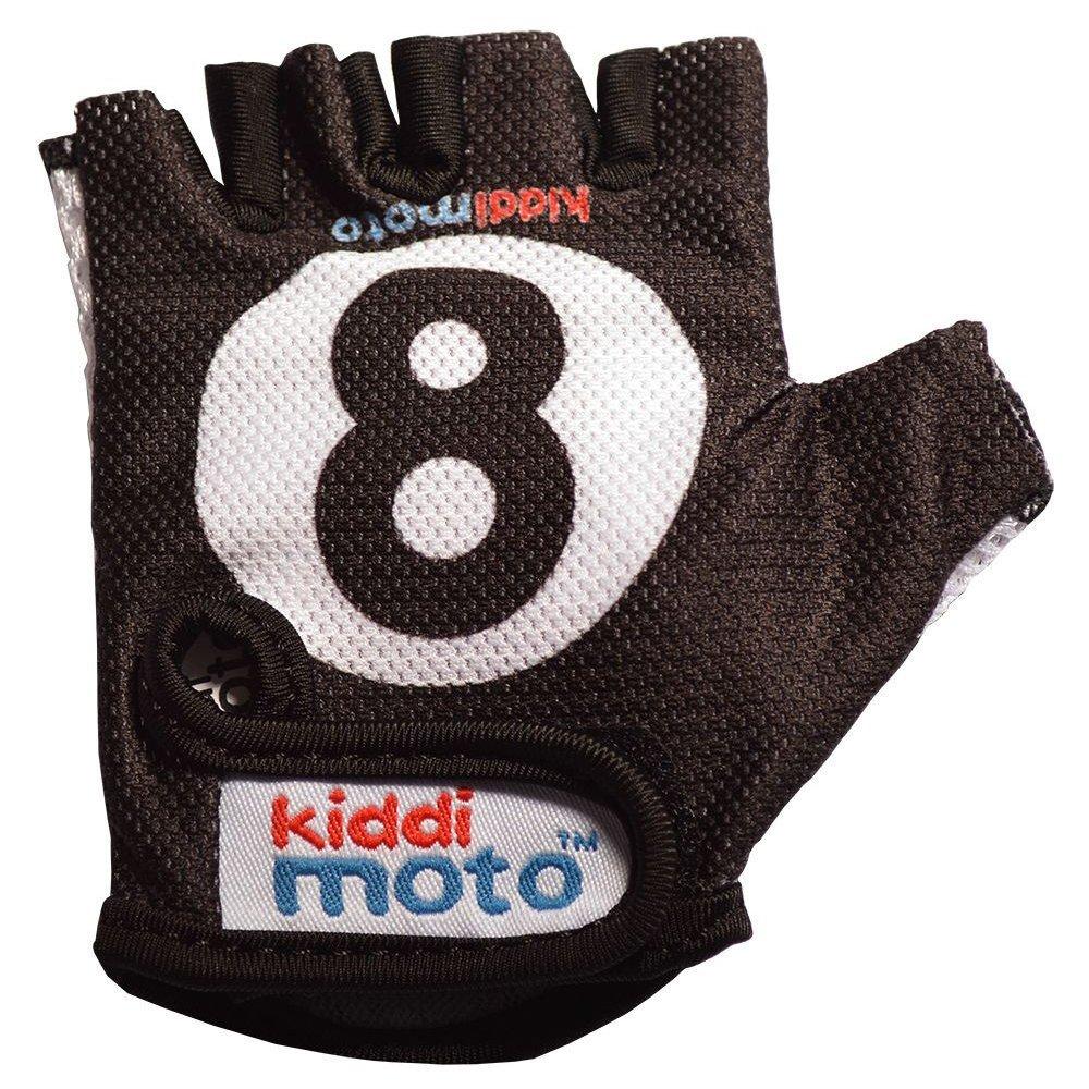 KIDDIMOTO Billardkugel S Guantes, Color Negro, S (2-5) (GLV006S) 2042354 Gloves6_schwarz-weiß-2-5years