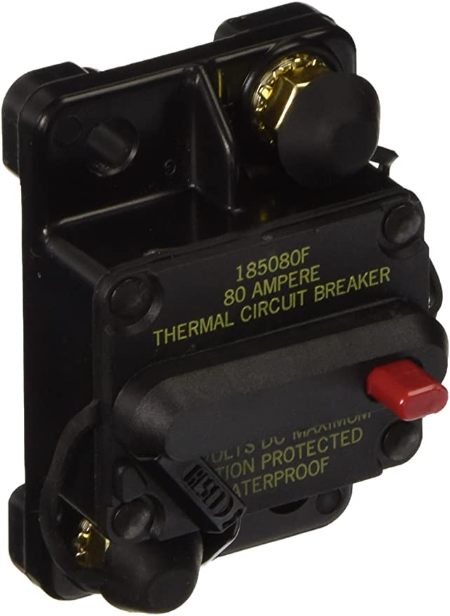 Bussmann 181080F-01-1 80A Circuit Breaker 30V Thermal Surface Mount