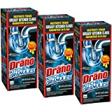 Drano Kitchen granules clog remover, 8.8 Ounce (Pack of 3)