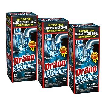 Drano Kitchen Liquid Drain Cleaner