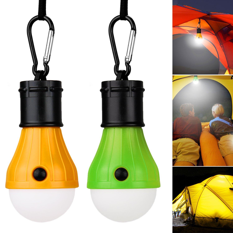 Vitutech LED Campinglampe LED Light camping Lampe, Bright Camping Licht für Camping Wandern Nachtangeln Notlicht, bewegliche, Birne, batteriebetriebenes , Außen- oder Innen Außen- oder Innen B073WX5T8K