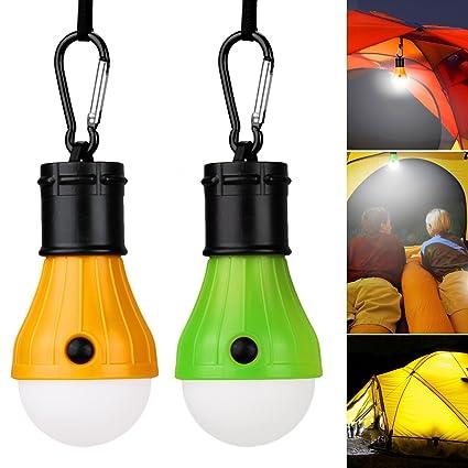 Camping Lampe LED Light Bright Tragbare Zeltlampe Gl/ühbirne Set-Notlicht Wandern Nachtangeln Notlicht f/ür bewegliche KOROSTRO LED Campinglampe Birne Au/ßen//Oder Innen batteriebetriebenes