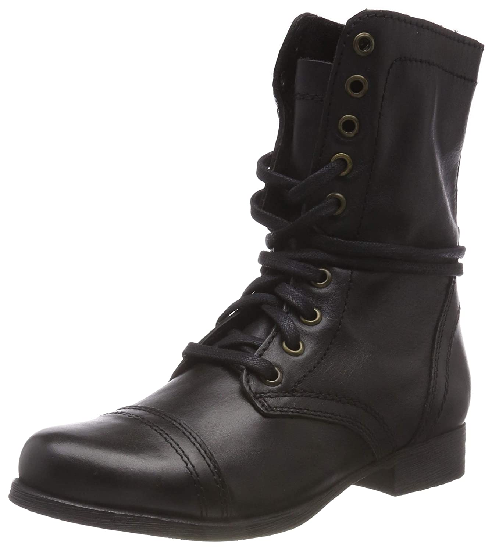 Steve Madden Damen Troopa Boot Ankle Boot Troopa Stiefeletten, Schwarz (schwarz Leder 017) c0fa20