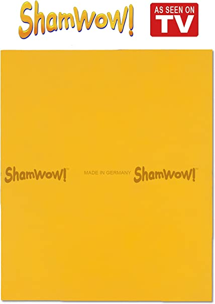 Chamois T The Original Shamwow Super Absorbent Multi-Purpose Cleaning Shammy