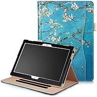 Robustrion Smart Multipurpose Folio Flip Stand Case Cover for Lenovo Tab 4 10 - Aqua