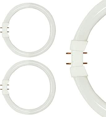 "(Pack Of 2) FC40T5/835-12"" T5 Flurescent Circline - 40 Watt (3000K - Warm White (9 Inches))"
