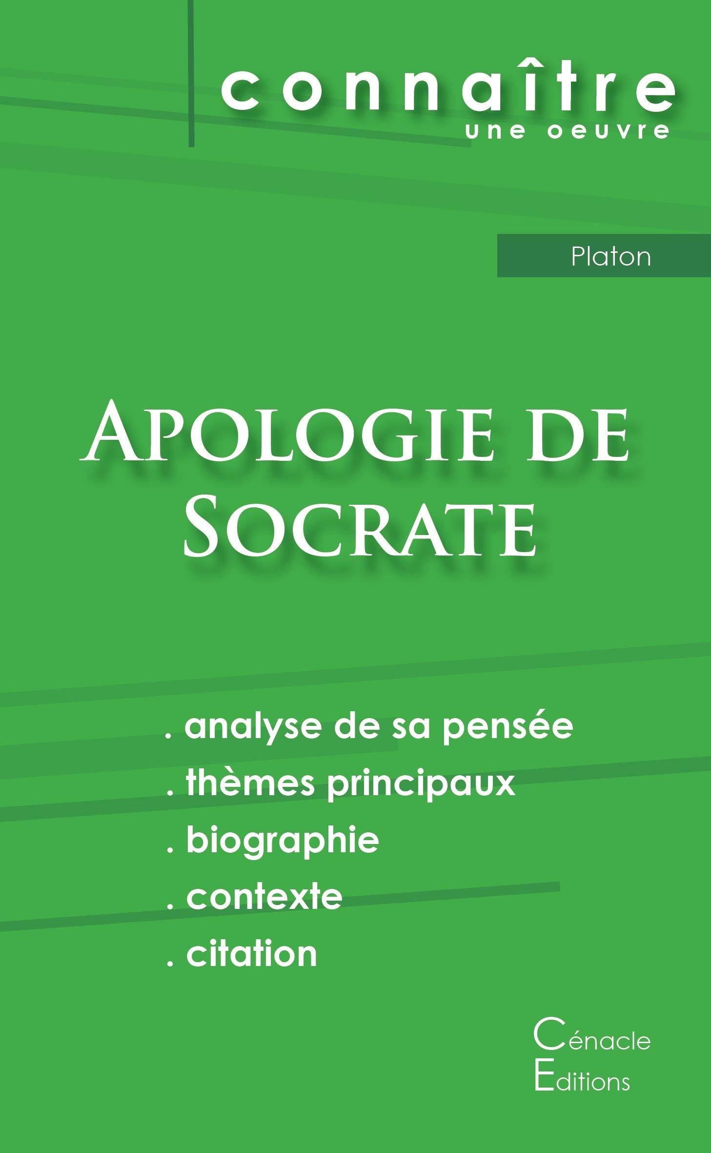 Fiche De Lecture Apologie De Socrate De Platon Analyse