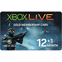 Xbox LIVE Gold 12-Month +1 Membership Card - Halo Wars Branded (Xbox 360)