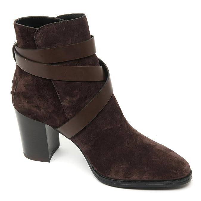 Marrone Shoe Scuro Tronchetto B9046 Donna Tod's Gomma T70 Scarpa x8fHYvW4qw