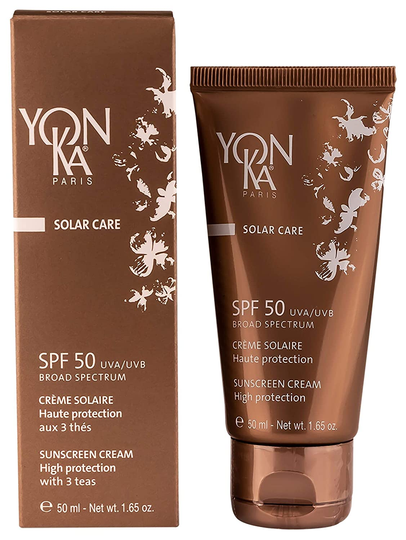 YON-KA Solar Care Sunscreen Cream SPF 50, 1.65 Ounce 50 Milliliter